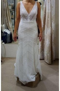 Suknia ślubna Lillian West 66049  Justin Alexander