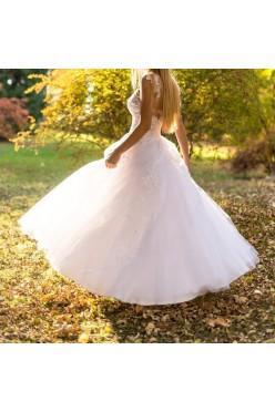 Olśniewająca suknia ślubna rozmiar 34 BIAŁA TARNÓW