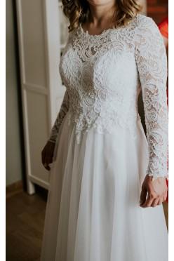 Sprzedam suknie ślubną Rustykalna/Boho