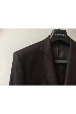 Czekoladowy garnitur ślubny męski LAVARD