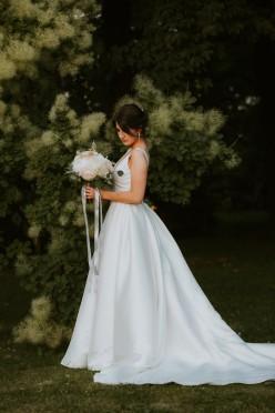 Suknia ślubna Pronovias Malena r. 36 / 38 2019 księżniczka
