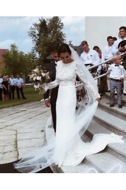 Wyjątkowa suknia ślubna od Violi Piekut! Jedyna taka!