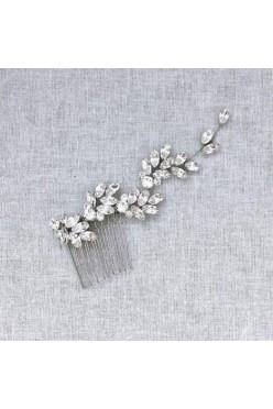 Stroik na grzebyku z kryształami Swarovskiego