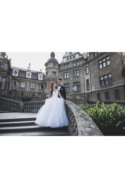 Suknia ślubna księżniczka/princessa