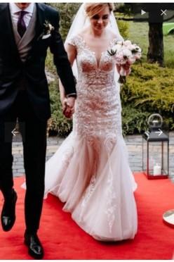 Suknia ślubna xs/s z salonu Monica Loretti model Rosanna