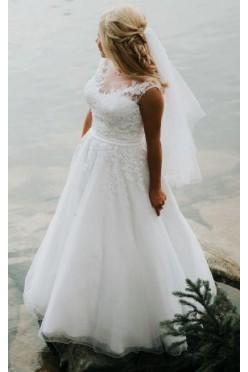 suknia ślubna Sincerity, biała, rozm. 34/36