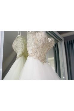 Suknia Ślubna Mori Lee 8175 32/34/XXS/XS księżniczka Ivory