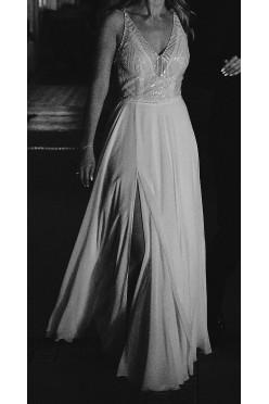 Suknia ślubna Viola Piekut Oryginał Nowoczesna Geometryczna