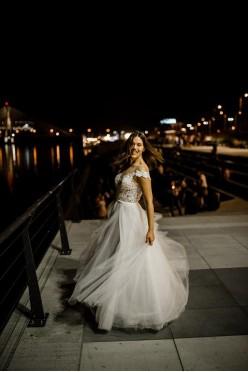 Suknia Ślubna, projektu Agnieszki Światły