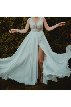 Przepiękna suknia ślubna grecka