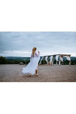 suknia ślubna projektu Joanna Niemiec