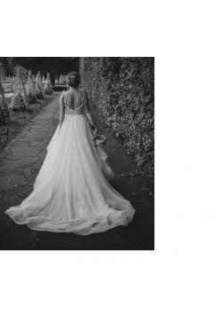 Sprzedam przepiękną suknię Delsa D3911 gratis 2 welony