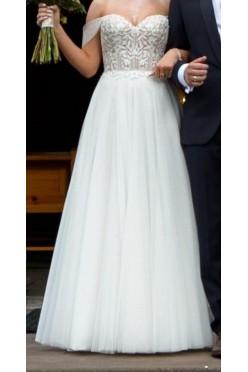 Suknia ślubna Justin Aleksander 88044 rozmiar 36