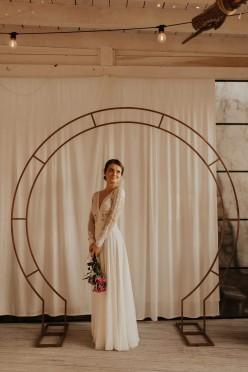 Suknia ślubna vintage/boho