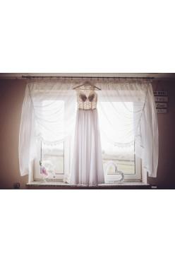Suknia ślubna rozmiar 36+gratis welon