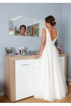 AGNES Suknia ślubna śmietankowa Top One 2020 M