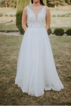 Suknia ślubna Gellena Piper roz. 38