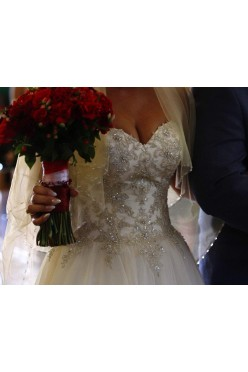 Błyszcząca suknia ślubna Vanessa 1825