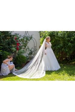 Suknia ślubna koronka 3D Atelier Rosa rozmiar 36/38