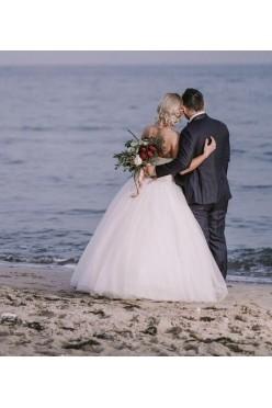 Piękna suknia ślubna 36