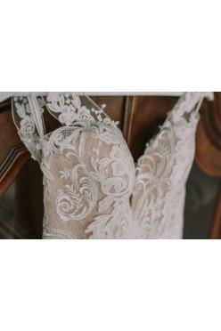 hiszpańska suknia ślubna La Sposa- BARCARES