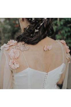 Suknia ślubna + Welon Mlekowy