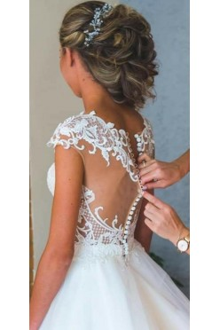 Piekna suknie ślubna