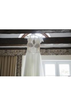 Okazja! Sprzedam wyjątkową i wygodną suknię ślubną.