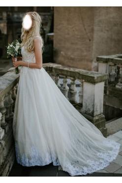 Suknia ślubna błyszcząca glamour