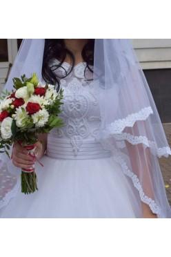 Suknia ślubna + Halka + bolerko