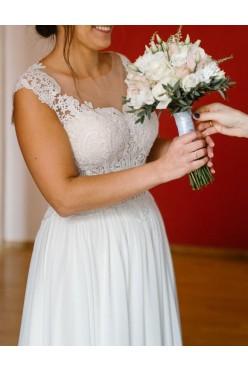 Suknia ślubna Ivory muślin