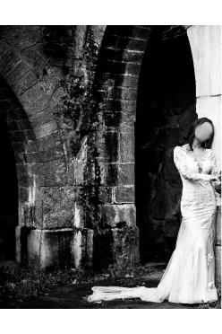 Suknia ślubna Justin Alexander Sweetheart długi rękaw