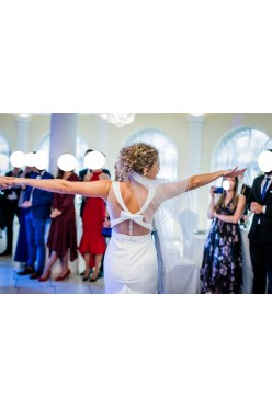 niesamowicie wygodna suknia ślubna