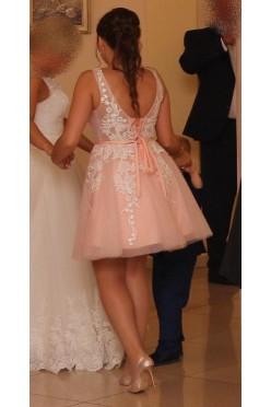 Sukienka do ślubu cywilnego lub dla druhny