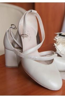 Buty KOTYL 663 Perła Beż – Taneczne czółenka, ślubne