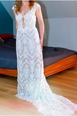 Koronkowa suknia ślubna - Juliette Atelier