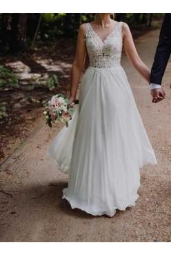 Suknia ślubna Ivory, Muślin