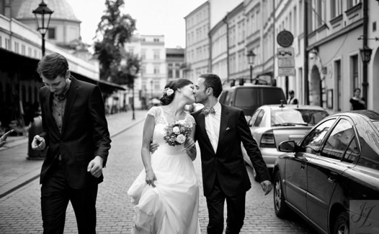Polsko Francuski ślub Doroty I Augustina ślub Na Głowie