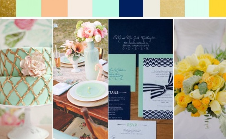 006db71f8508e9 Miętowa zieleń w dekoracjach ślubnych Z czym połączyć miętowy kolor?