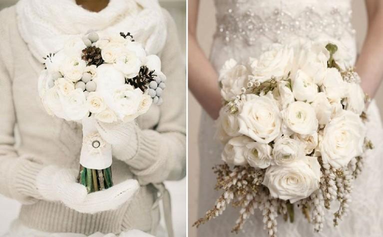 Rośliny Na Zimowy Bukiet ślubny Kwiaty Do Zimowego Bukietu ślubnego