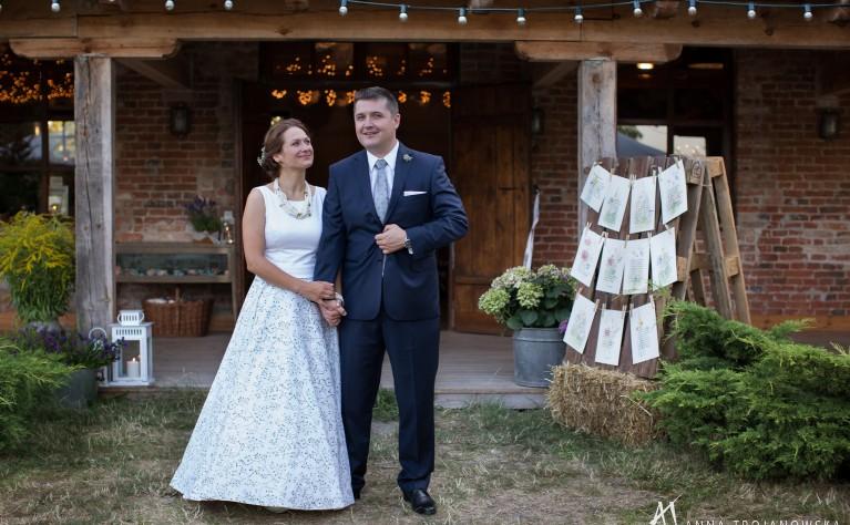 Ania & Radek - ślub w stylu rustykalnym