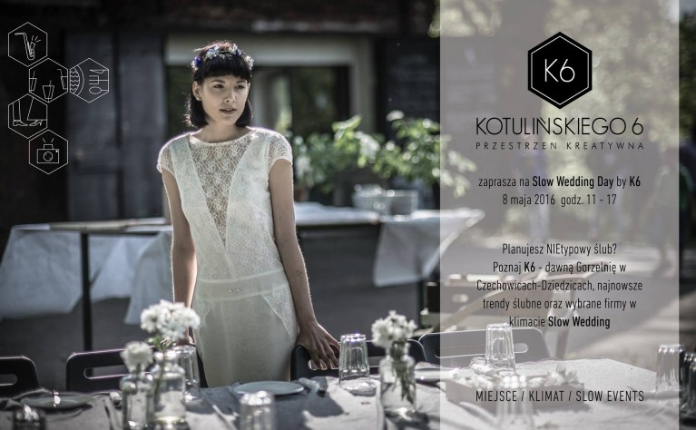 Slow Wedding Day by K6 – to pierwsze na Śląsku Alternatywne Targi Ślubne.