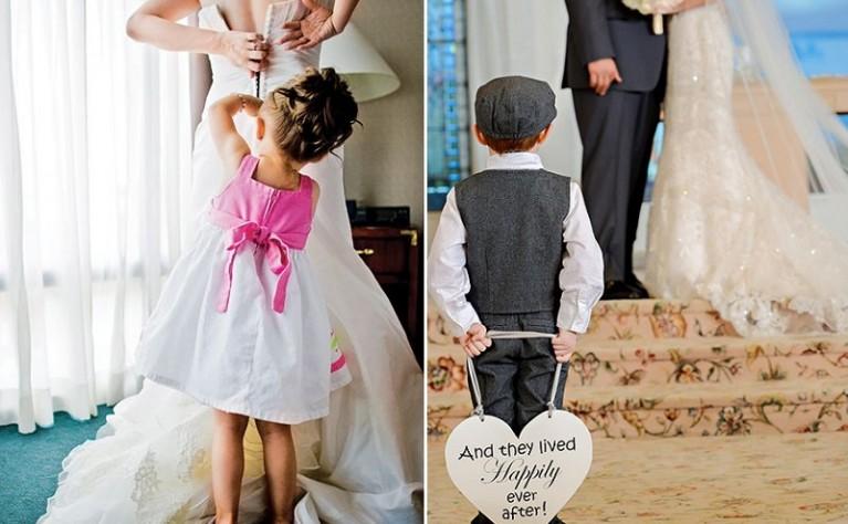 Jak zaplanować ślub i wesele, kiedy masz dzieci