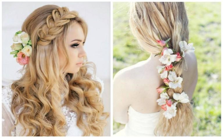 Kwiaty we włosach - najpiękniejsze ślubne upięcia