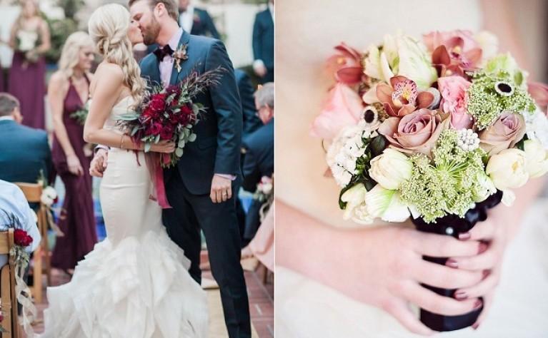 20 jesiennych bukietów ślubnych