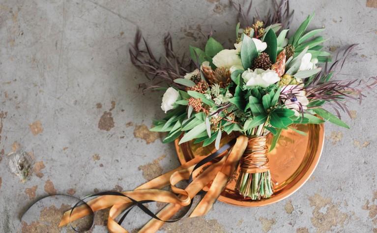Miedź na weselu - najnowszy trend kolorystyczny