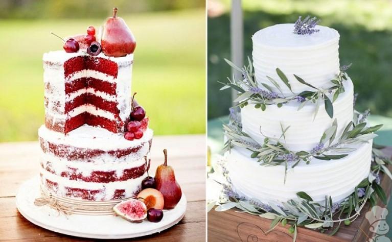 20 najpiękniejszych tortów w stylu rustykalnym