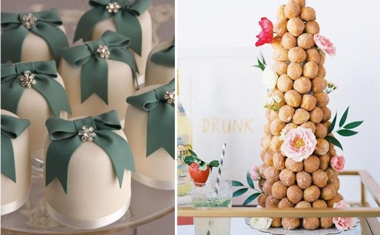 10 alternatyw dla tortu weselnego