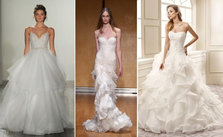 acfb89a484 trendy w modzie ślubnej na 2018 rok