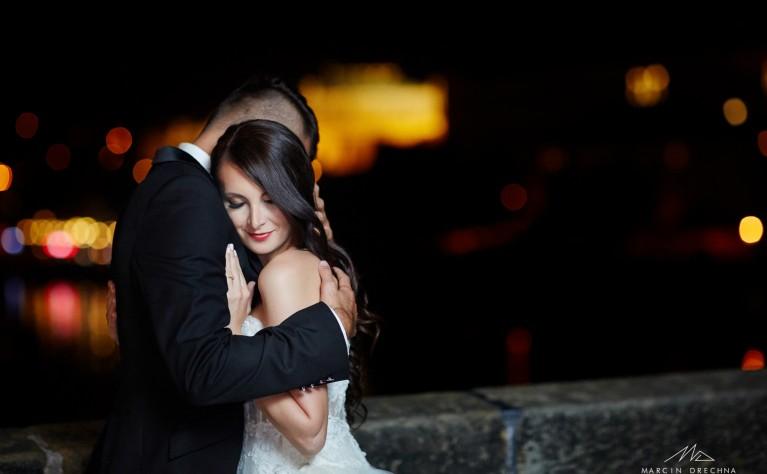 ANIA I MACIEK - romantyczna sesja ślubna z Pragi, fotografia:  Marcin Drechna